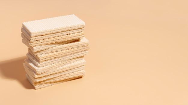 Pila di wafer con spazio di copia
