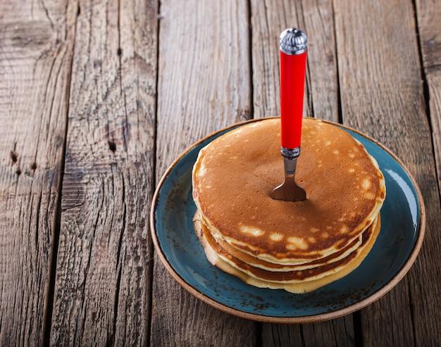 Pila piegata pancake