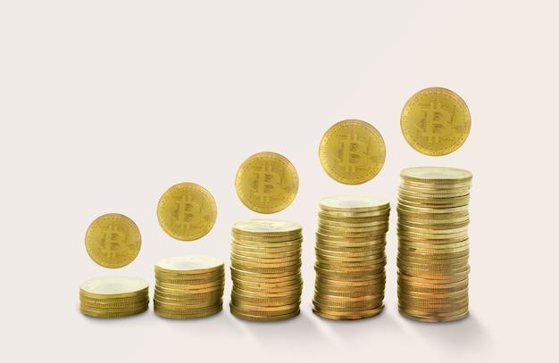 Pile di monete d'oro.