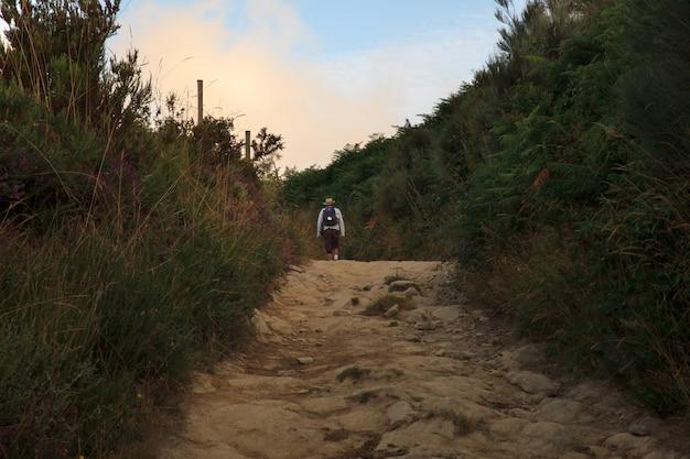 Pilgrimn lungo la strada di st. james