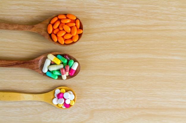 Pillola e capsula di medicina
