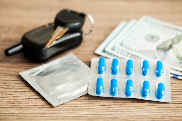 Pillole di potenza medica per la salute sessuale in capsule