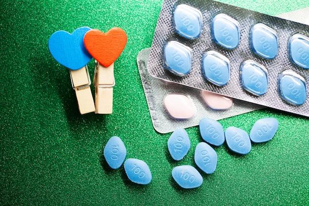 Pillole di salute sessuale per uomini e donne