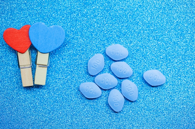 Pillole di salute sessuale per uomo