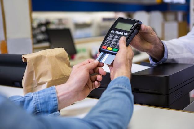 Pin di immissione cliente nel terminale macchina di pagamento