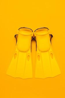 Pinne da nuoto gialle