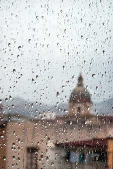 Pioggia su palermo