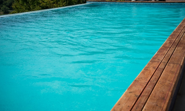 Piscina relax concetto