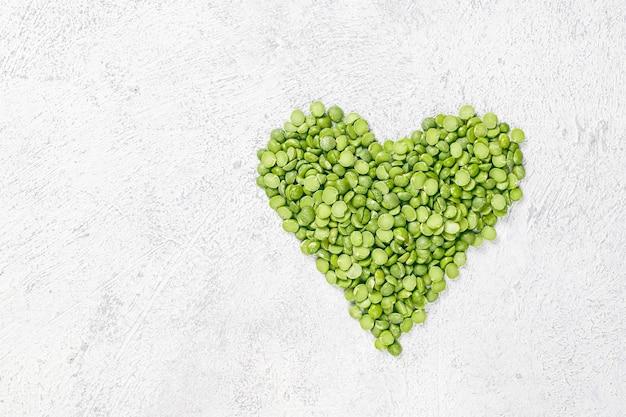 Piselli spezzati verdi