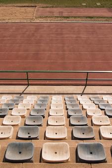 Pista di atletica nello stadio