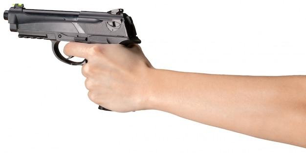 Pistola isolata