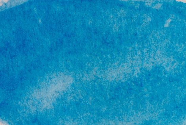 Pittura ad acquerello, cornice artistica astratta, posto per testo o logo. tono blu
