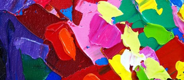 Pittura ad olio disegnata a mano. pittura ad olio su tela.