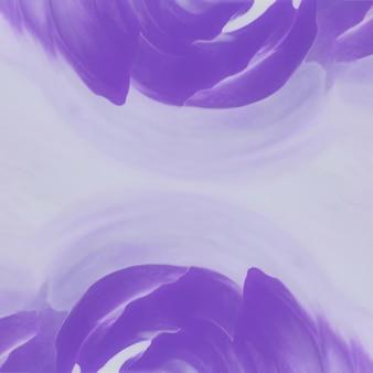 Pittura astratta dell'acquerello viola su carta