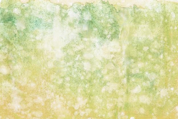 Pittura astratta della mano di arte dell'acquerello su fondo bianco.