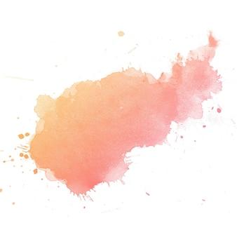 Pittura astratta della mano di arte dell'acquerello