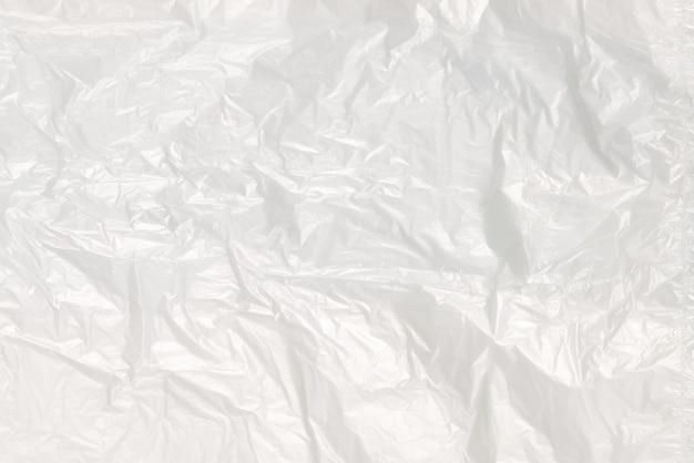 Plastica con sfondo di acqua. vista dall'alto.