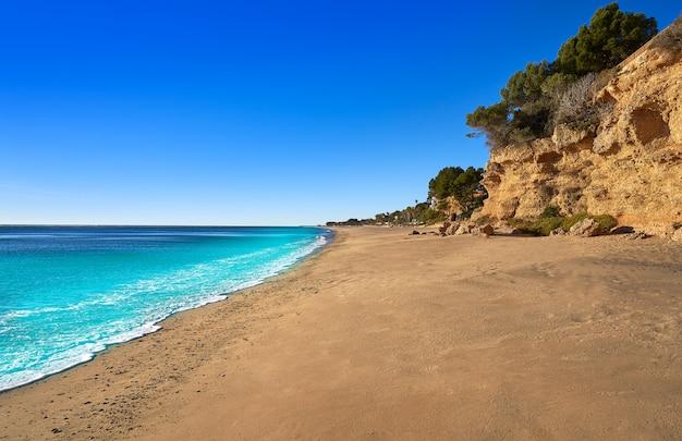 Playa playa cala pescador a miami platja