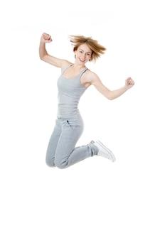 Playful sportiva salto