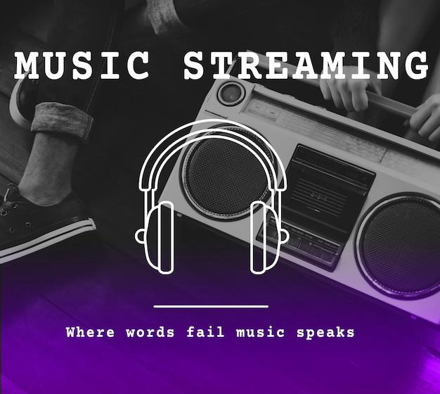 Playlist di musica audio per il tempo libero