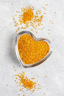 Polline d'api di medicina alimentare