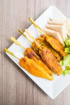 Pollo al satay