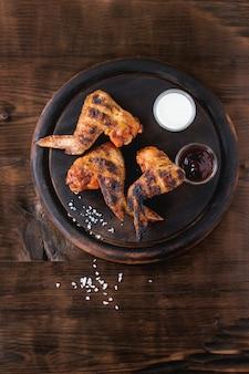 Pollo alla griglia barbecue