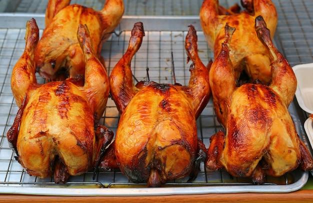 Pollo arrosto alla griglia
