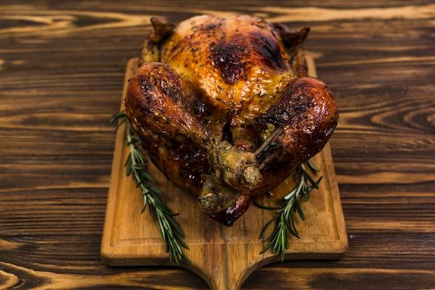 Pollo fritto con rosmarino