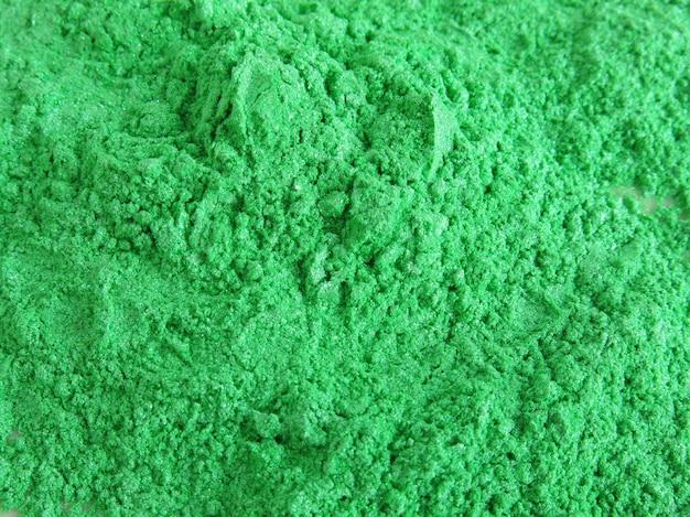 Polvere di pigmento verde mica per cosmetici