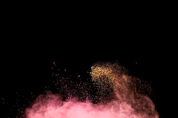 Polvere leggera a colori brillanti