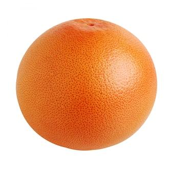 Pompelmo rosso, intero, isolato citrus.