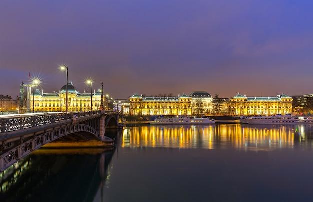 Ponte dell'università di lione francia