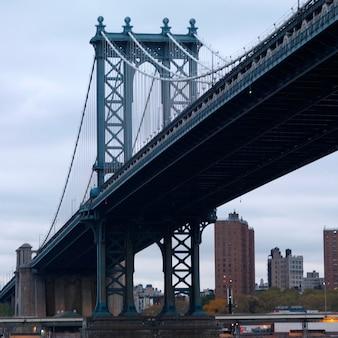 Ponte di manhattan, new york city, stati uniti d'america
