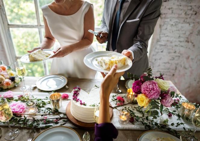 Ponte e sposo giorno delle nozze
