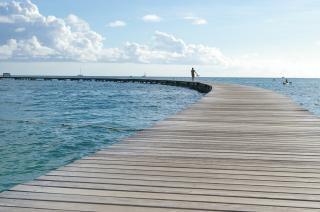 Ponte sull'isola di martinica,
