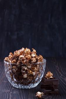 Popcorn al cioccolato dolce