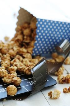 Popcorn e appunti e assicella