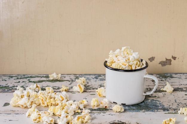 Popcorn salati preparati