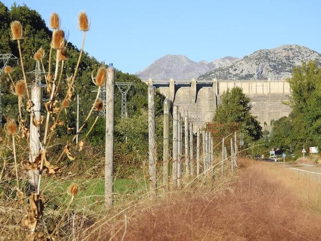 Porma reservoir in boñar