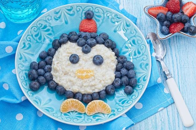 Porridge colazione per bambini