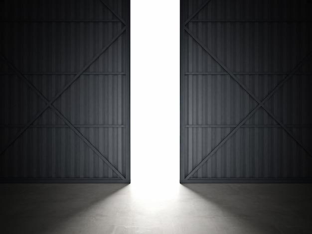 Porta dell'hangar
