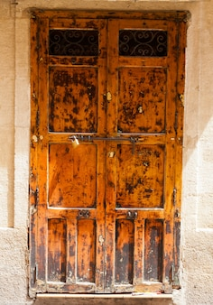 Porta in legno vintage
