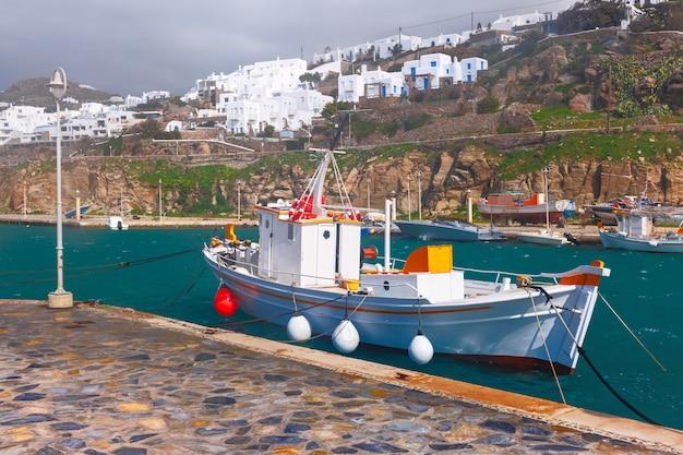 Porto di mykonos, in grecia