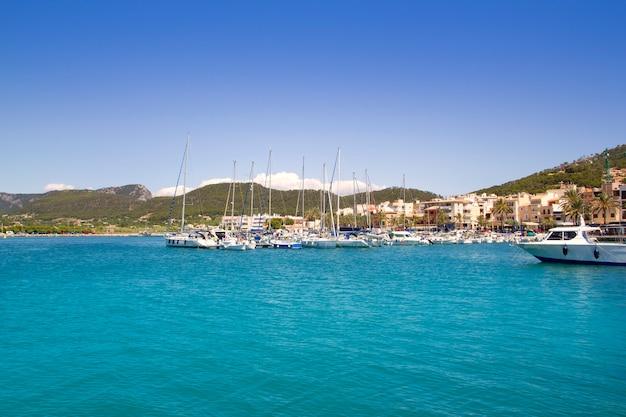 Porto turistico di andratx a maiorca isole baleari