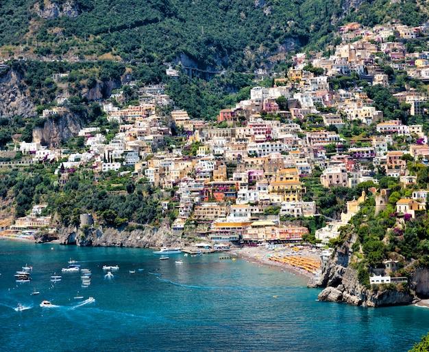 Positano costiera amalfitana italia