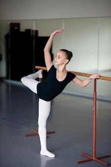 Posizioni di insegnamento nella scuola di balletto.