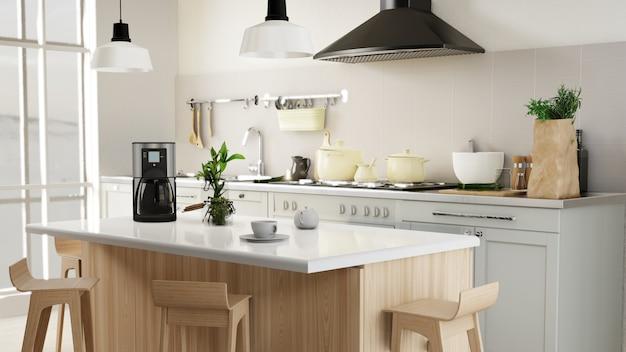 Poster interno soggiorno e cucina