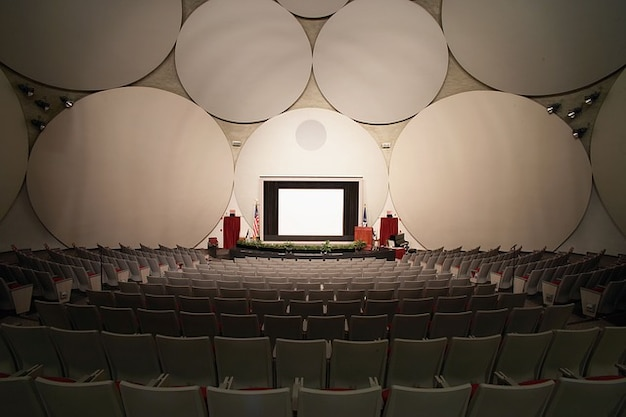 Posti a sedere langley cia auditorium interno virginia