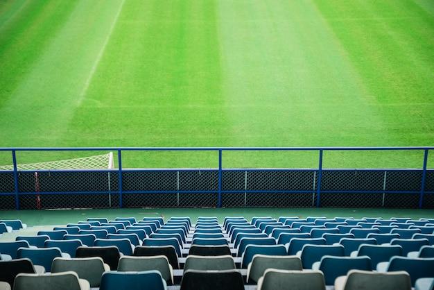 Posto vuoto allo stadio di calcio
